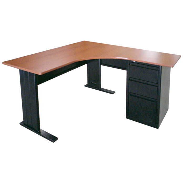 Muebles continental escritorios euro ejecutivos for Medidas de muebles para oficina